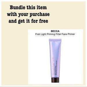 BECCA First Light Filter Face Primer